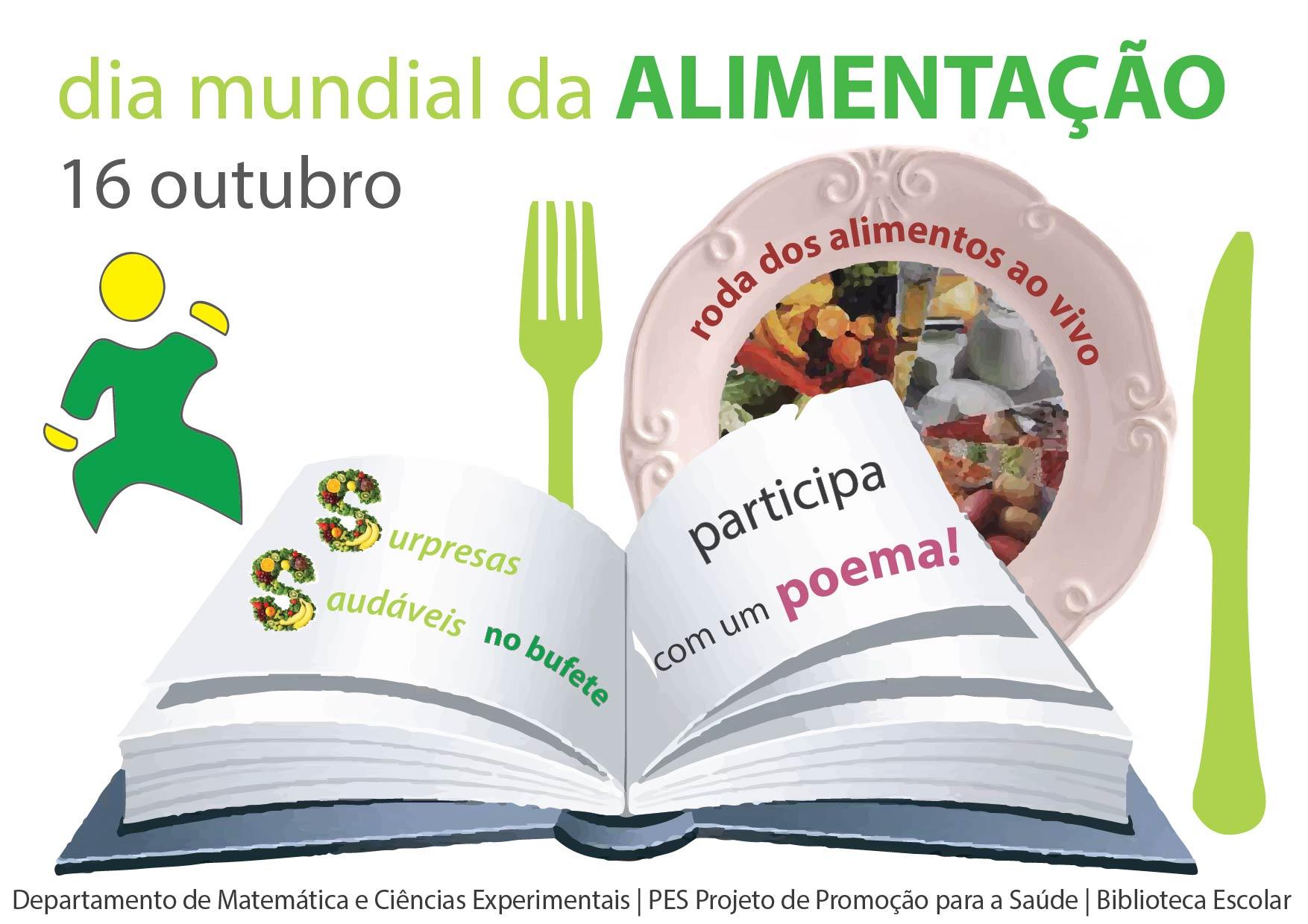 Conhecido Dia mundial da alimentação « Biblioteca Escolar PT27
