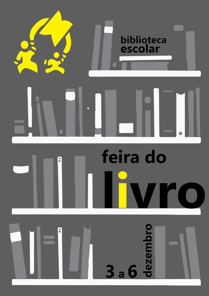 feira livro cartaz