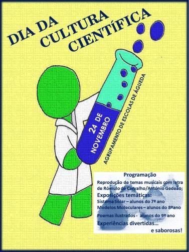 cartaz da cultura científica